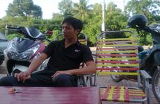 Lang thang một mình quán Cafe